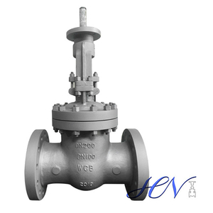 Bare Stem Carbon Steel Flanged Flexible Wedge Gate Valve