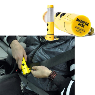 Multifunctional Car Safety Hammer Emergency Life Saving Kit Seatbelt Cutter Window Breaker Emergency Rescue Kit Essential Escape Tool