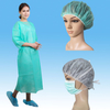 Waterproof PP+PE Isolation Gown with Knitted Cuff