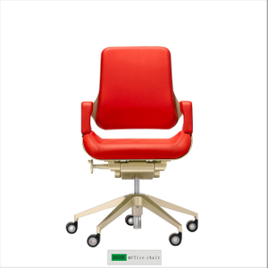 Top Grain Leather Clup Chair 869B