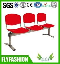 Durable training plastic public waiting row chair (SF-45F)