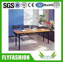 Hot modern wooden design training table furniture (SF-06F)