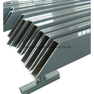Metric 6060 Aluminum Rectangular Tube