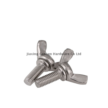 ANSI/ASME B 18.17 1/2 inch stainless steel butterfly universal wing bolt