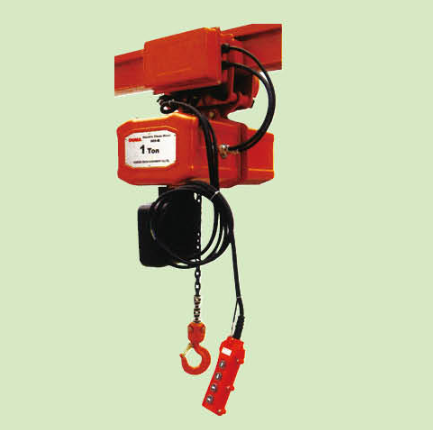 ELECTRIC CHAIN HOISTS WITH TROLLEY