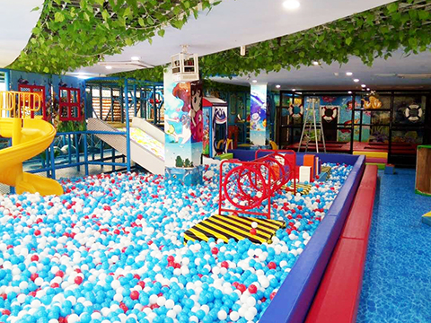 Customized Ocean Theme Kids Indoor Playground Equipment