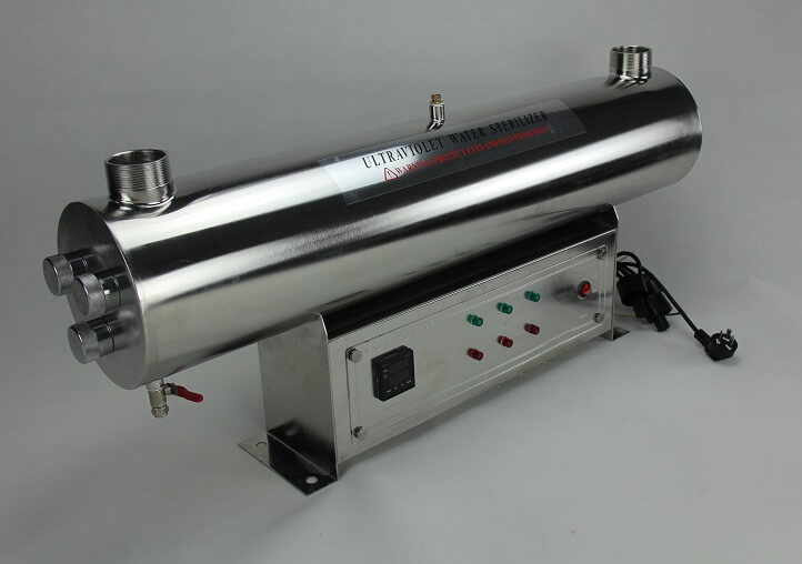 Stainless Steel UV Sterilizer for Water 225W