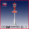 (LV180S-RW) Outdoor Decorative Streetlamp for Christmas with Snowflakes and Music