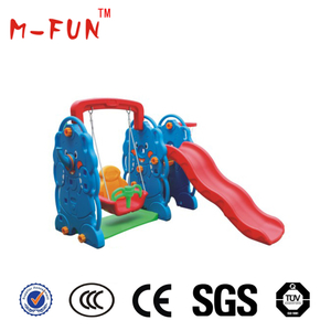 Indoor plastic slide