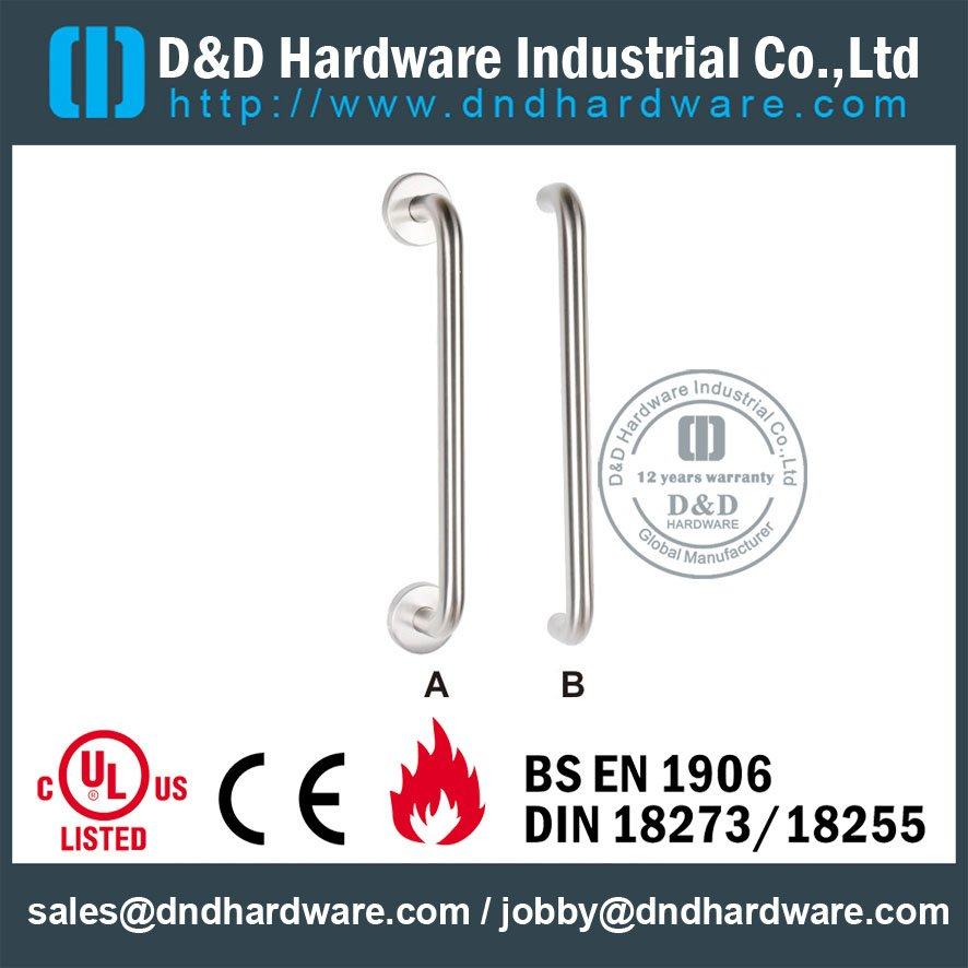 SUS304 Pull Handle-D y hardware D