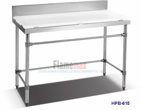 Great Stainless Steel Commercial Kitchen Working Table-Flamemax