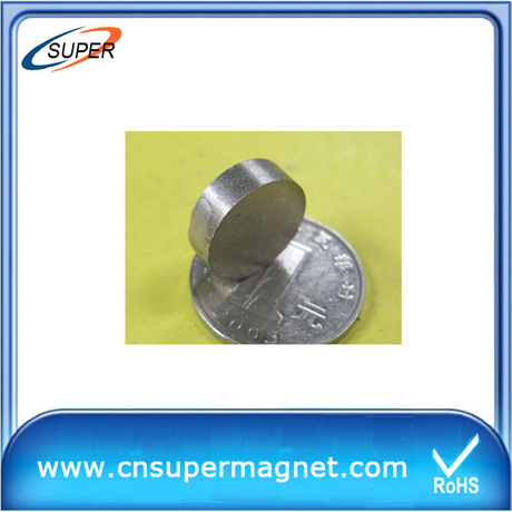 Promotional D12*3mm Disc magnets SmCo