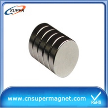 High Quality Permanent Neodymium Magnetic Disc
