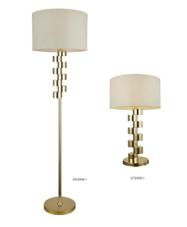 Modern Design Brass Home Floor Lamps with Shade (GF2056-1)