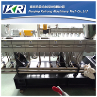Nylon+long Glass Fiber Reinforced Polymer Plastic Compound Parallel Co-rorating Twin Screw Extruder Machine