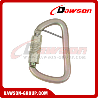 High Tensile Steel Alloy Steel Carabiner DS-YIC003D With PIN