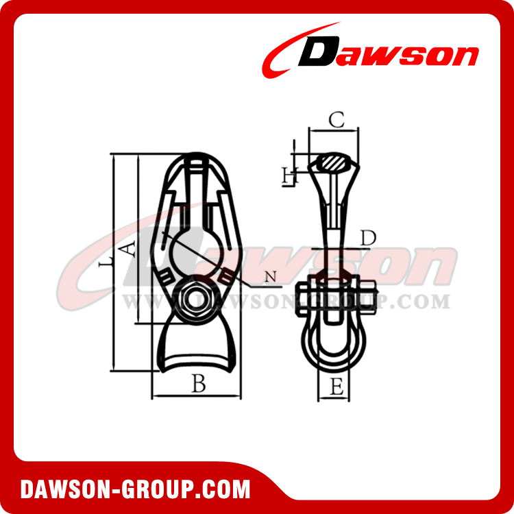 DS1037 G100 Chain Rope Connector - Dawson Group Ltd. - China Supplier, Factory, Manufacturer