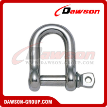 Stainless Steel JIS Type Dee Shackle