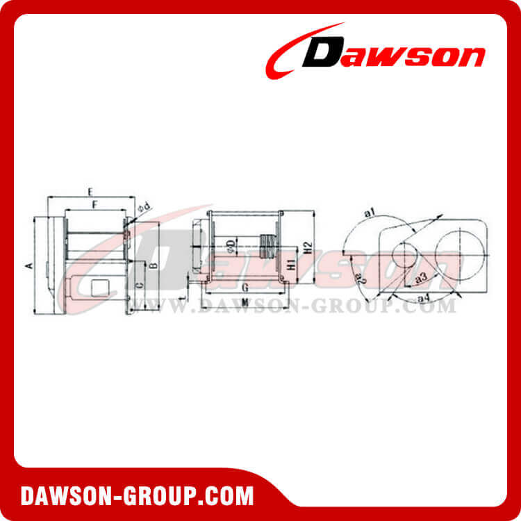 ELECTRIC WINCH Dawson Group Ltd. - China Manufacturer, Supplier, Factory, Exporter