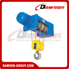 Foot-Mounted Electric Wire Rope Hoist For Wire Sling Hoist