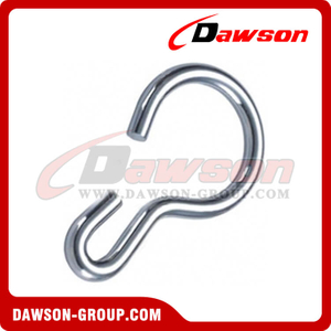 Cup Shaped Snap Hook Zinc Plated
