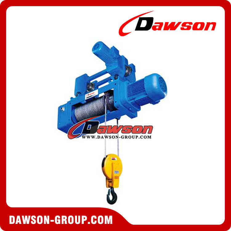 Hook Suspension type Hoist 2-1 Electric Wire Rope Hoist, lifting ...