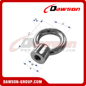 Stainless Steel Eye Nut JIS Type