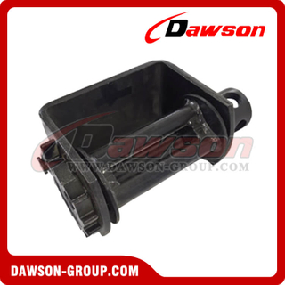 Weld on Winch - Combination - Flatbed Truck Winches for Cargo Lashing Straps