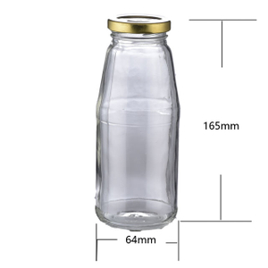 200ml Glass Juice Bottle