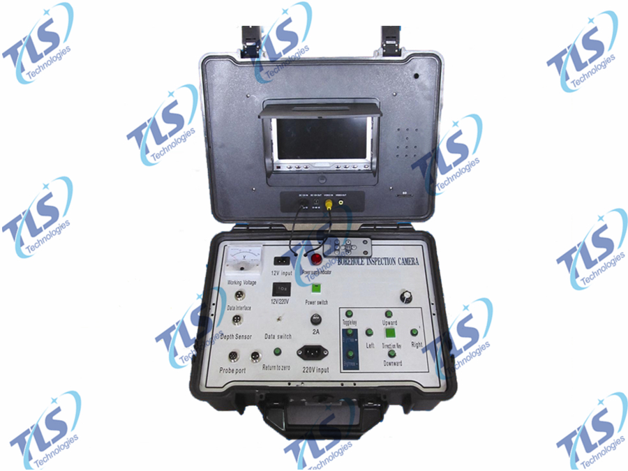 Monitor Controller of Borehole Inspection Camera