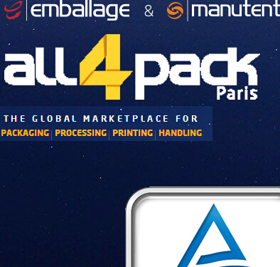 Welcome to Our Booth in ALL 4 PACK Paris Show!!-Stand 7B-051 14-17th,Nov