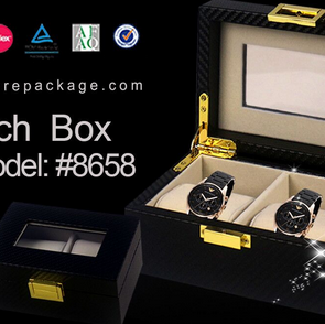 PSP WEEKLY Bring you 2 slots Leather Watch Box