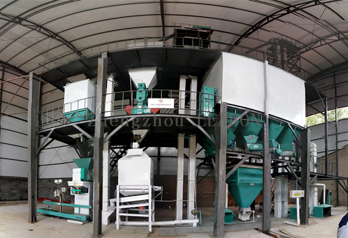 3-5 TPH Manual Poultry Feed Pellet Plant - Buy 3-5 TPH manual