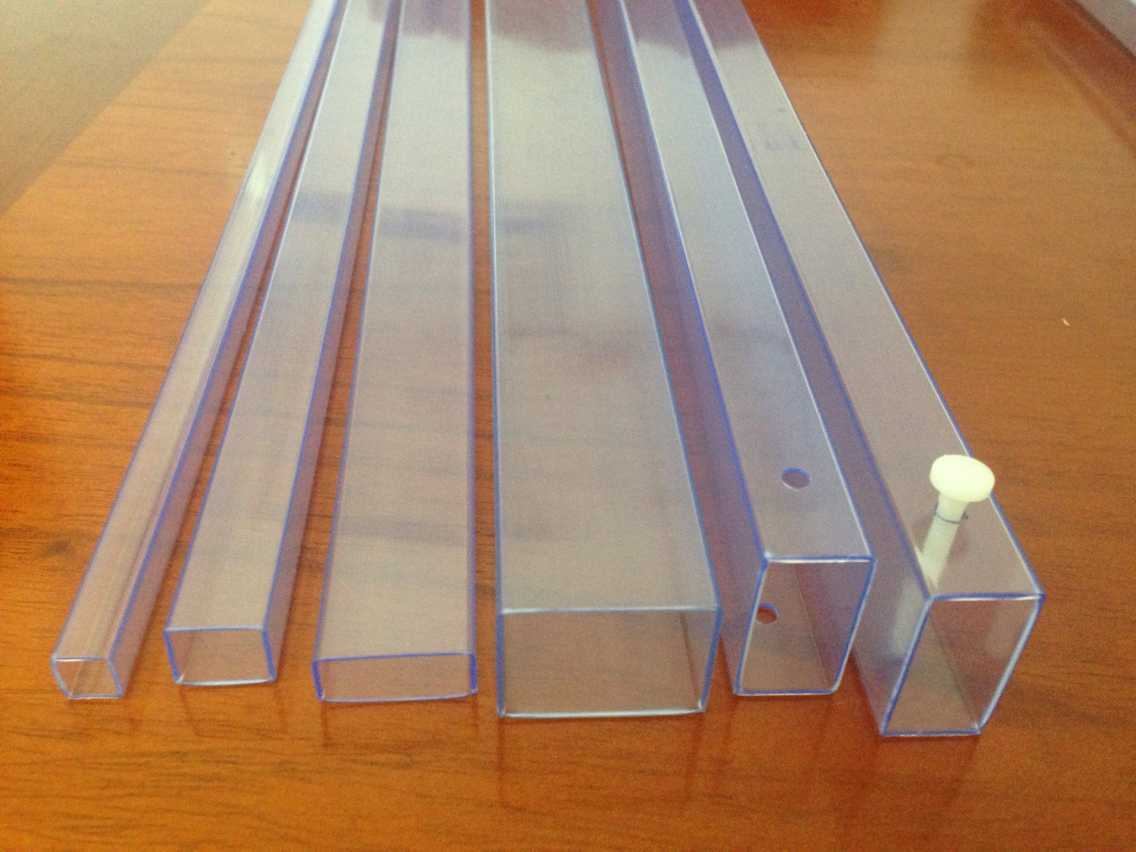 IC shipping tube for Magnetic components, automotive connectors