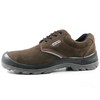 CE Suede Leather Safety Jogger Sole Men Work Shoes Steel Toecap