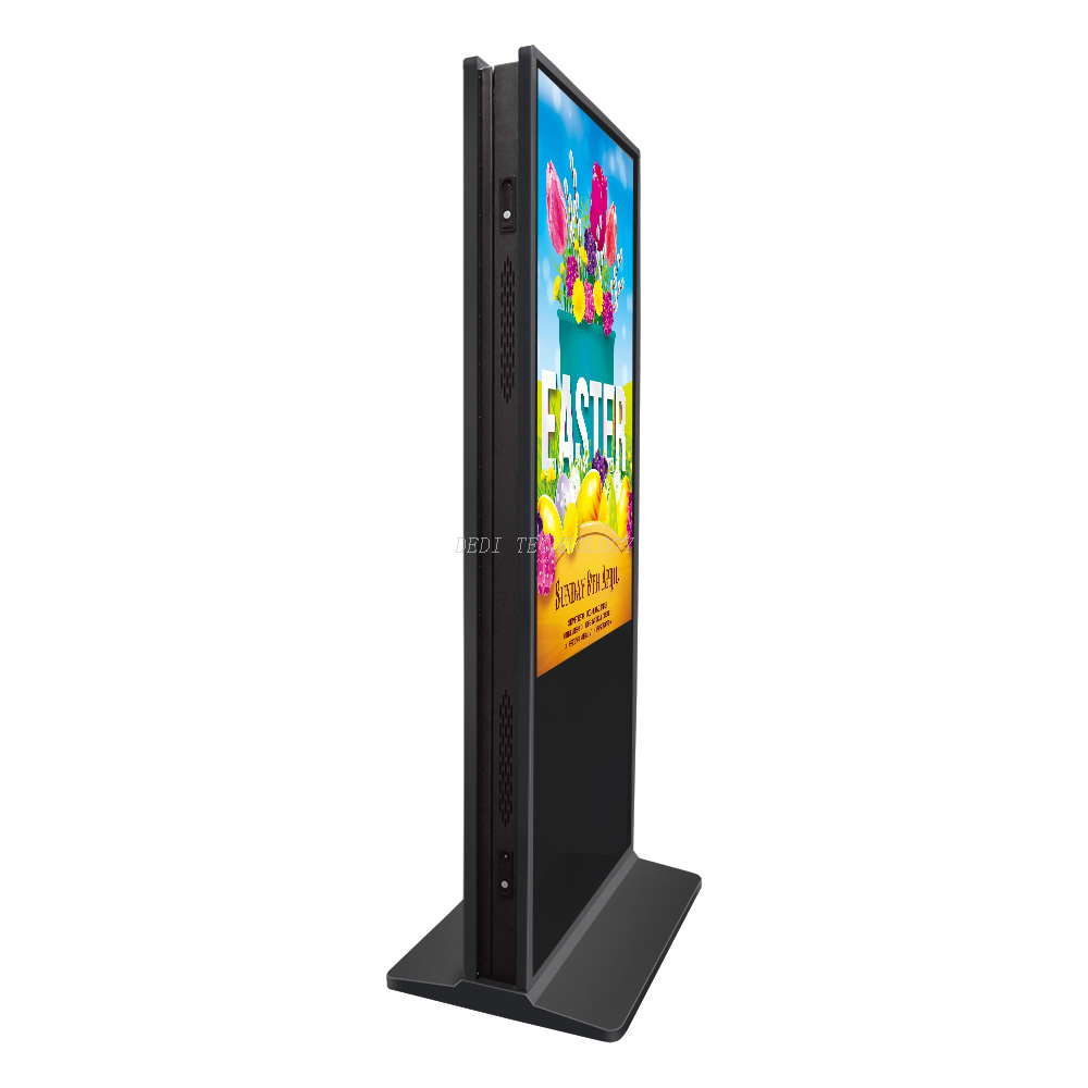 55 inch lcd indoor double sided digital signage with wifi