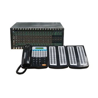 Intercom Telephone PABX PBX System with 192 users for hotel