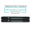 Telephone portand Ethernet interface Fiber transceiver