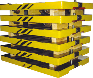Pallet Car used for mold line