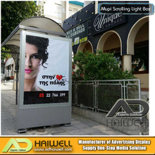 Bus Shelter with Mupi LED Light Box