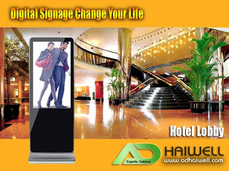 digital-lcd-signage-Applications-hotel-lobby