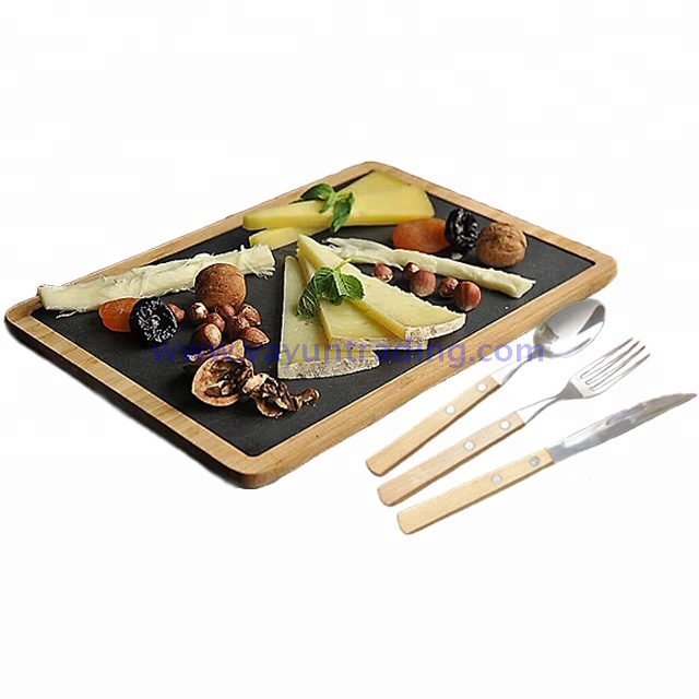 Japanese style home party hotel sushi slate platter