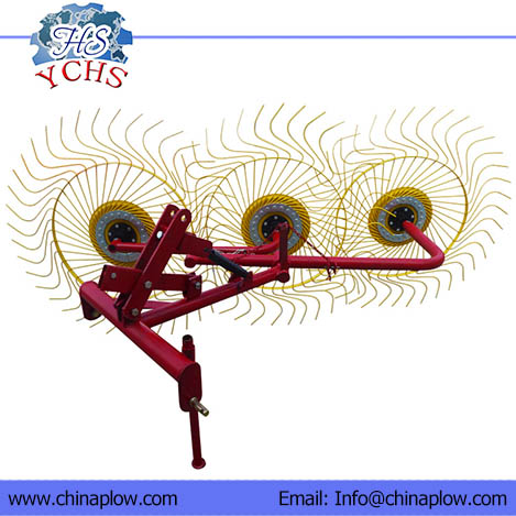 Hay rake stockbreeding machine