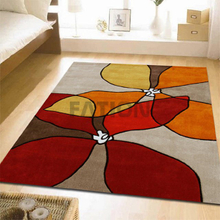 5'×8' Modern Commercial Area Rug Floor Acrylic Carpet