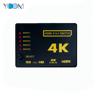 HDMI Switch Support 3D at 1080P 5 to 1
