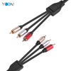 Super High Quality 3 RCA to 3 RCA AV Cable 1.5M
