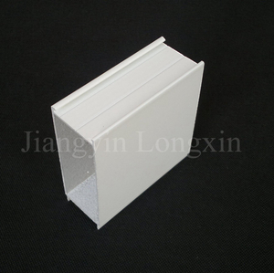 White Powder Coated Aluminium Profile for Windows