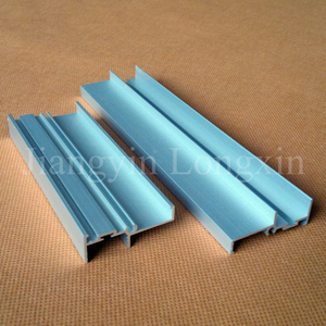 Silver Anodized Aluminium Profile for Construction
