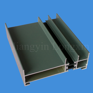 Green Coated Aluminum Extrusion for Windows