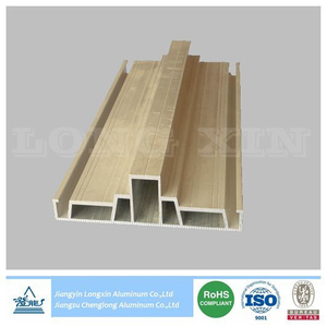 Silver Anodized Aluminum Profile for Industry